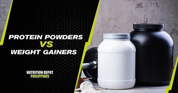 wweight gainers vs protein powders